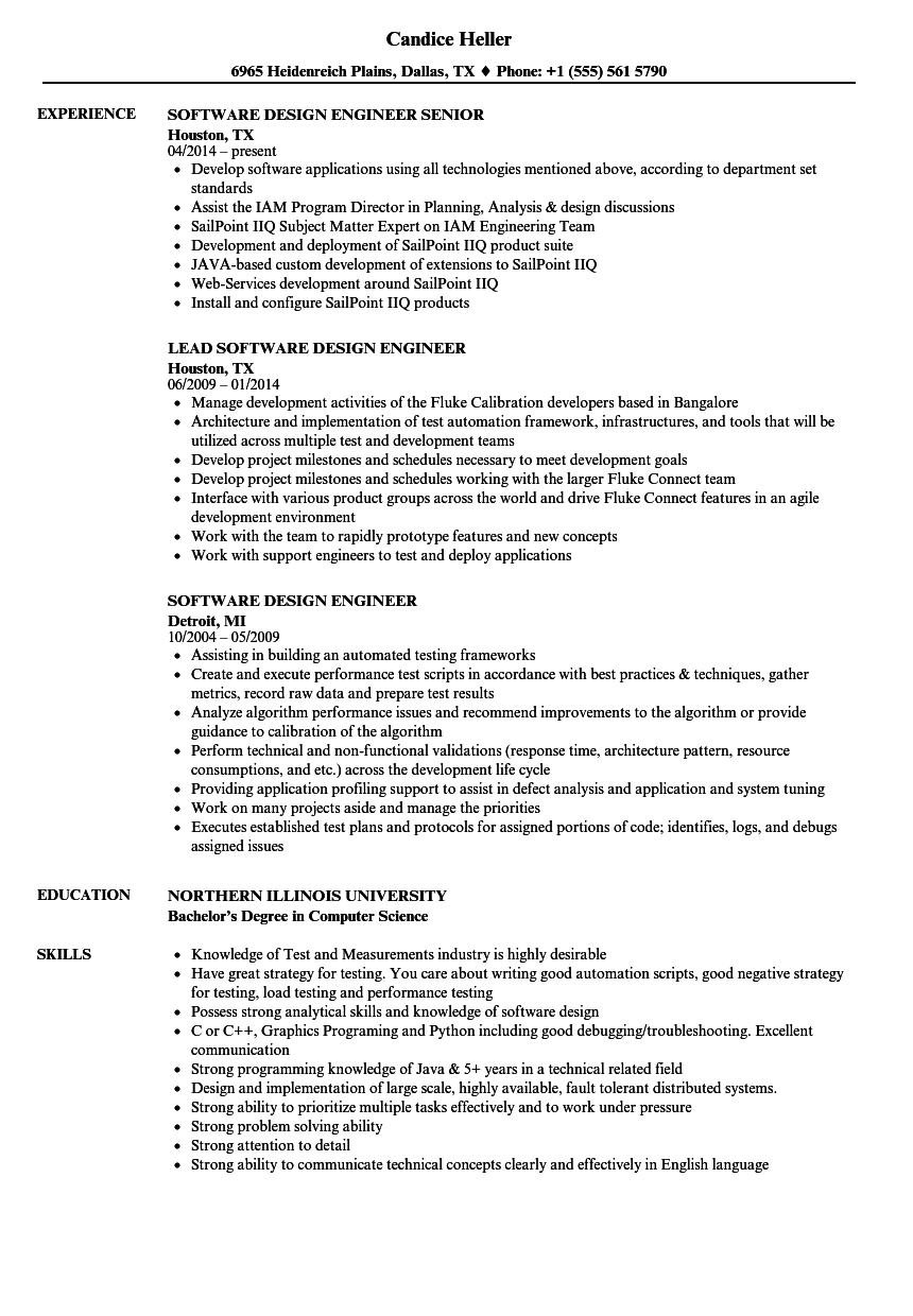 Velvet Jobs  Design Engineer Resume
