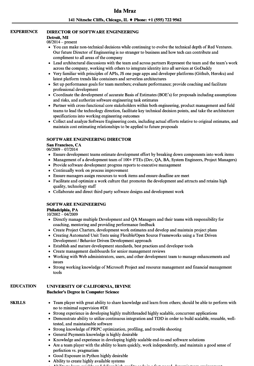 Software Engineering Resume Samples Velvet Jobs Uml2clearquest Visio State Diagram Template Download Sample As Image File