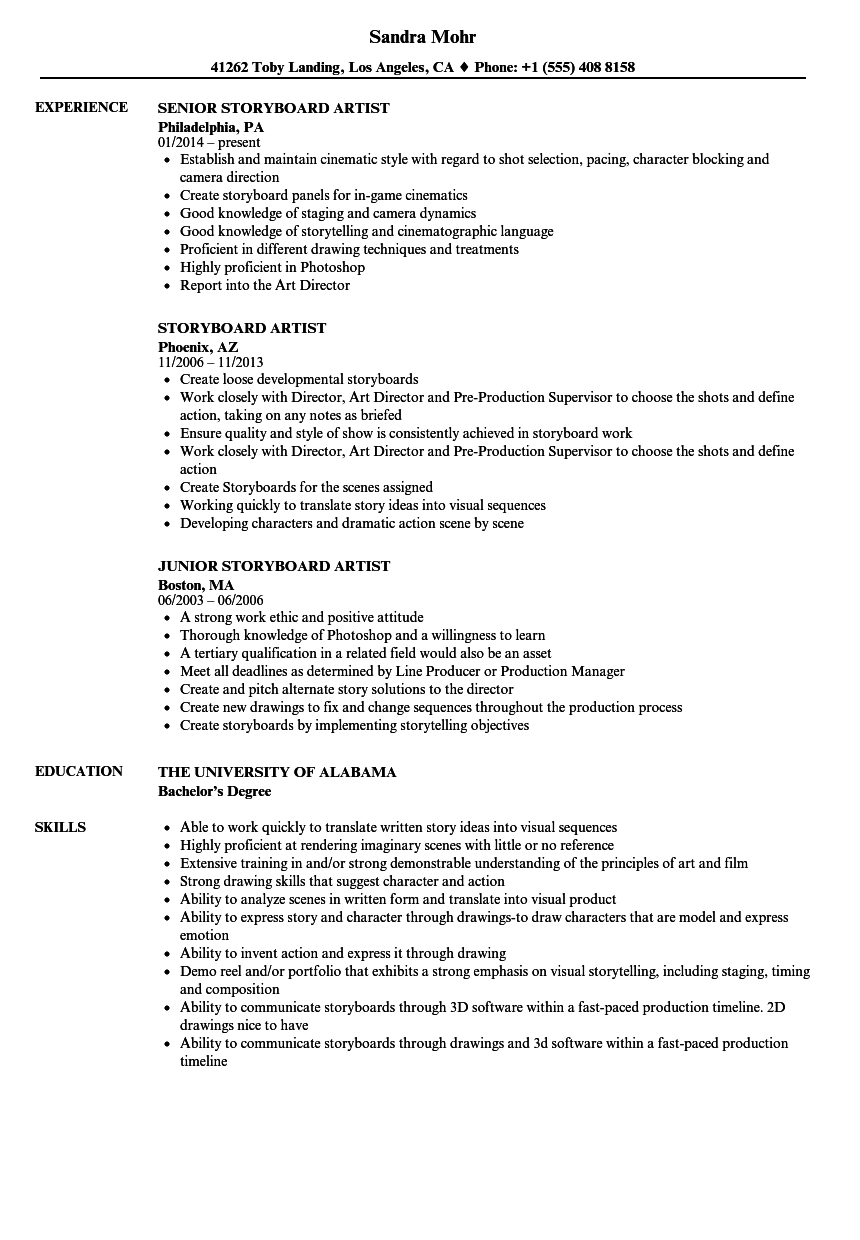 art resume sample professional resume templates