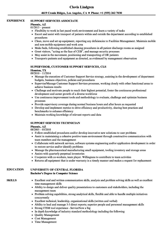 Distribution resume service