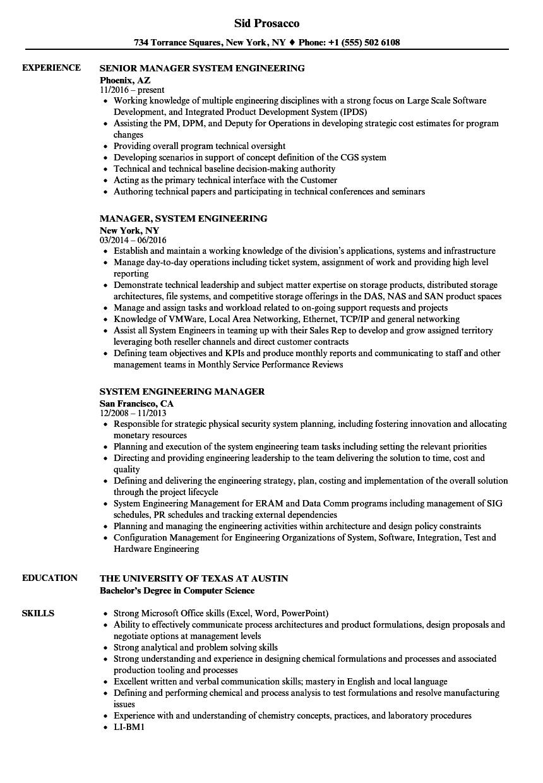 download system engineering resume sample as image file
