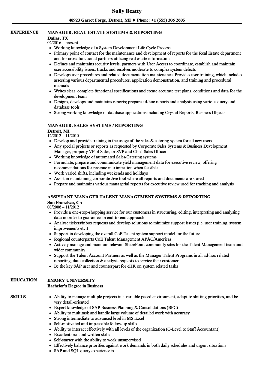 related job titles financial reporting manager resume sample sample financial reporting manager resume - Sample Financial Reporting Manager Resume