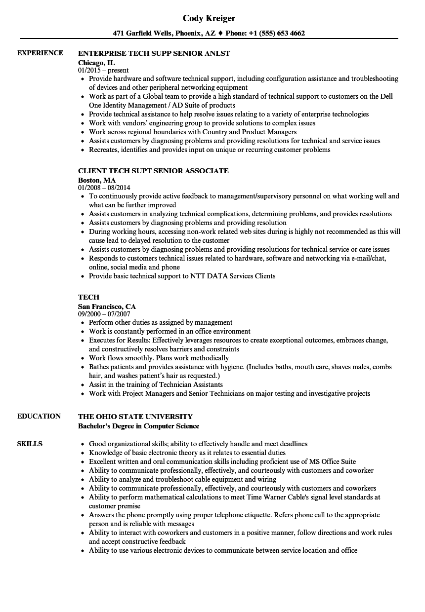 Velvet Jobs  Tech Resume