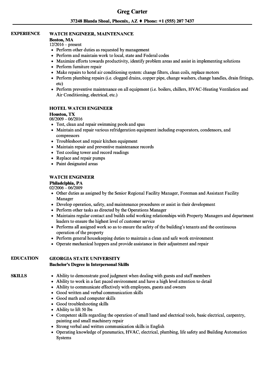 resume Tower Climber Resumes watch engineer resume samples velvet jobs download sample as image file