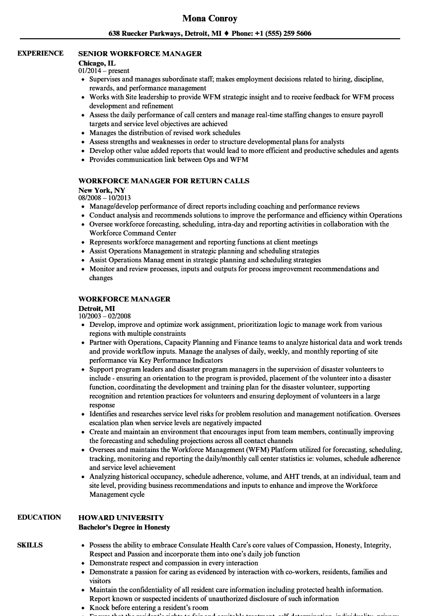 download workforce manager resume sample as image file workforce management analyst sample resume - Workforce Management Analyst Sample Resume
